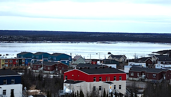 Housing in Kuujjuaq, Nunavik.